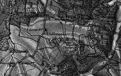 Old map of Didbrook in 1896