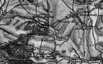 Old map of Didmarton in 1897