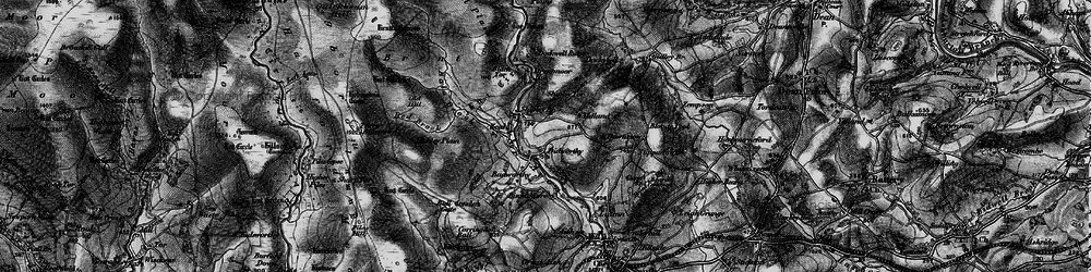 Old map of Woolholes in 1898
