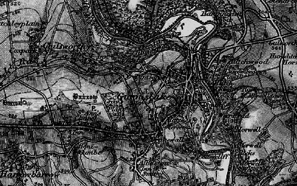 Old map of Dimson in 1896