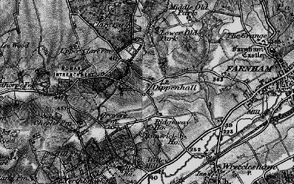 Old map of Willey Place in 1895