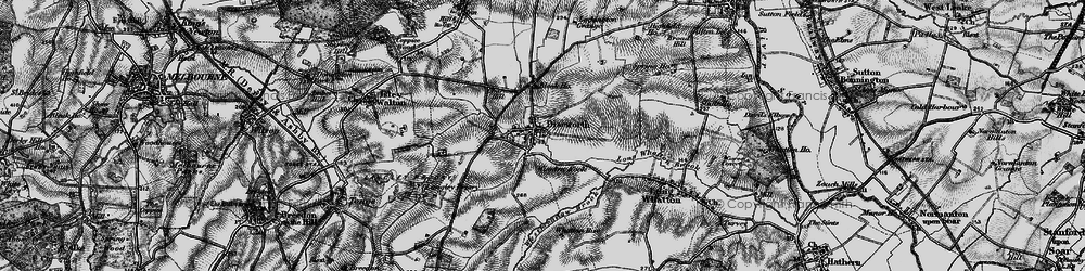 Old map of Westmeadow Brook in 1895