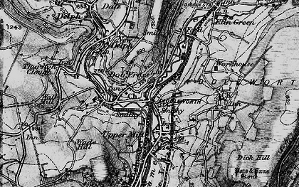Old map of Lark Hill in 1896