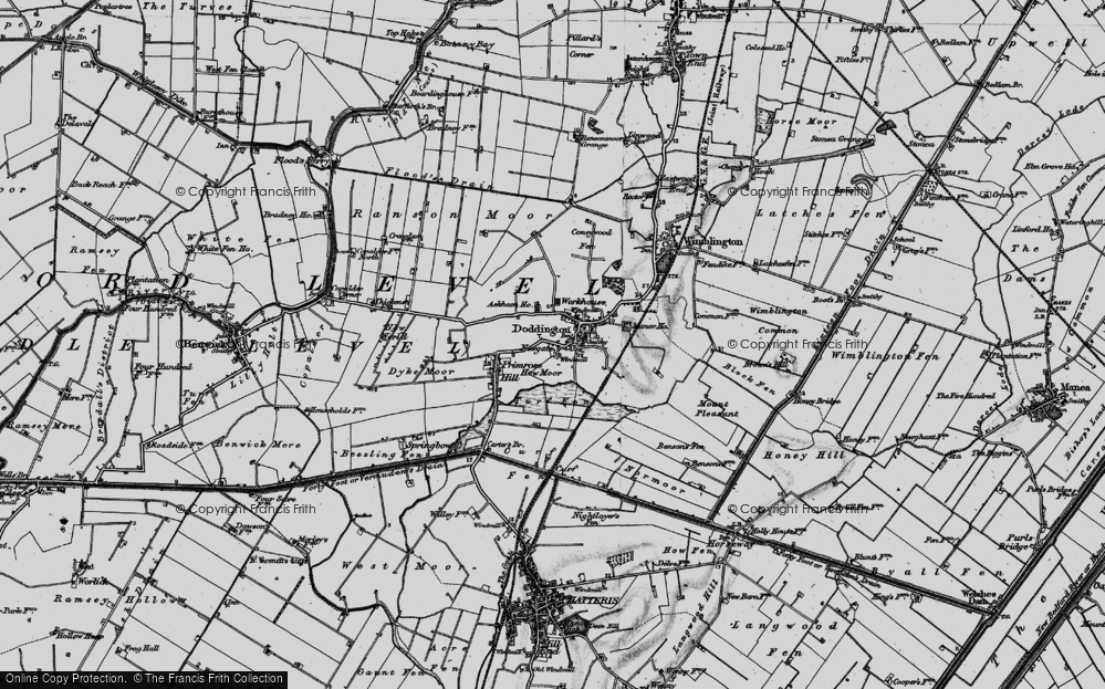 Old Map of Historic Map covering Askham Ho in 1898