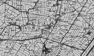 Map of Doddington, 1898