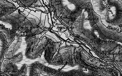 Old map of Banc Dolhelfa in 1898