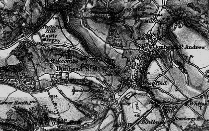 Old map of Wincombe in 1895