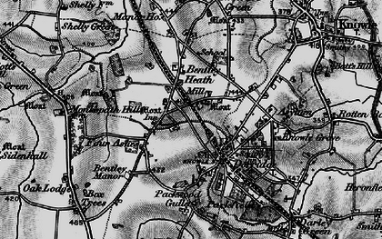 Old map of Dorridge in 1899