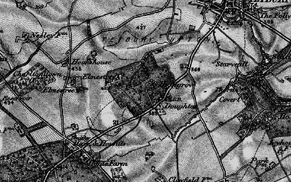 Old map of Doughton in 1897