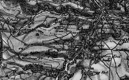 Old map of Downend in 1897