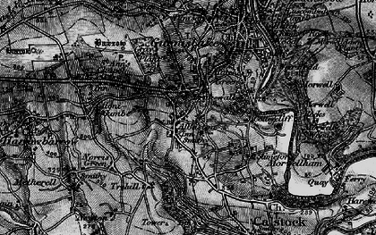 Old map of Albaston in 1896