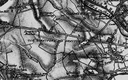 Old map of Wildmoor, The in 1898