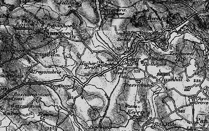 Old map of Drift in 1895