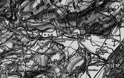 Old map of Druid in 1898