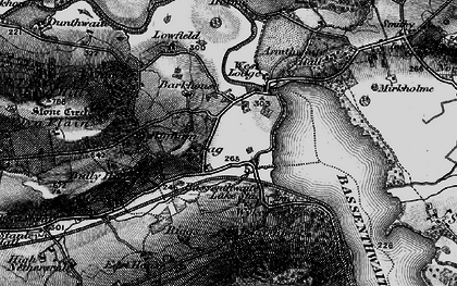 Old map of Barkhouse in 1897