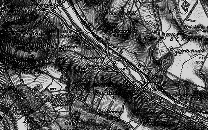 Old map of Dudswell in 1896