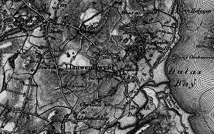 Old map of Ynys y Carcharorion in 1899