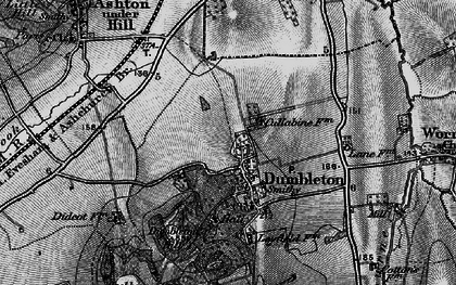 Old map of Dumbleton in 1898