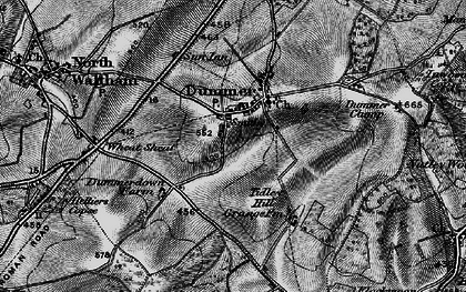 Old map of Tidley Hill in 1895
