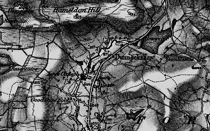 Old map of Limy Water in 1896