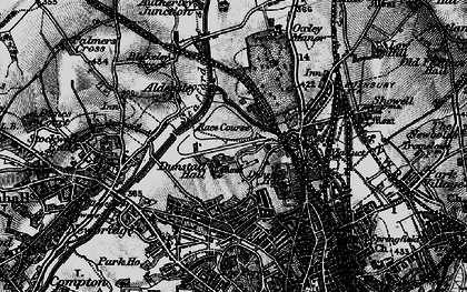 Old map of West Park in 1899