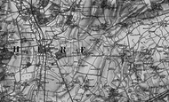 Map of Dunton, 1896