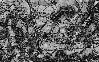 Old map of Dursley in 1897