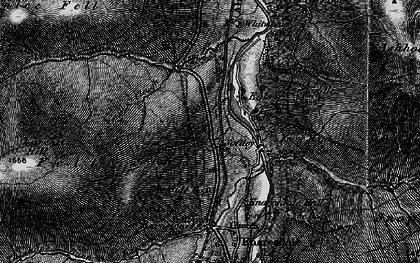Old map of Ashholme Common in 1897