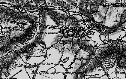 Old map of Earls Colne in 1895