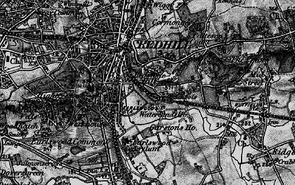 Old map of Earlswood in 1896