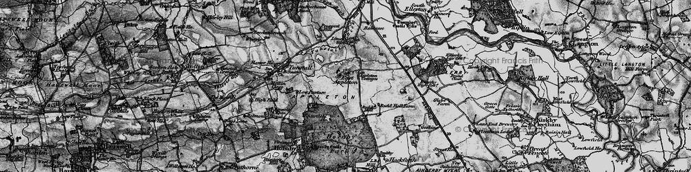 Old map of Winterfield Ho in 1897