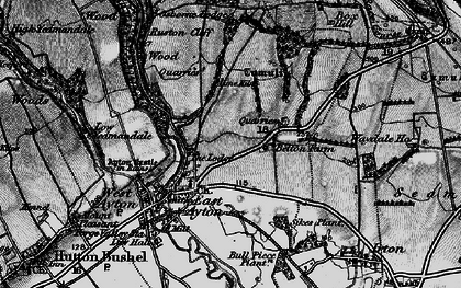 Old map of East Ayton in 1898
