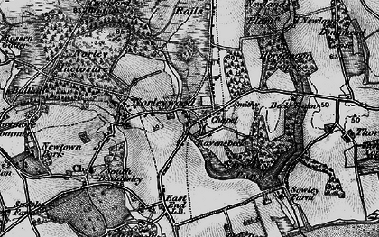 Old map of Colgrims in 1895
