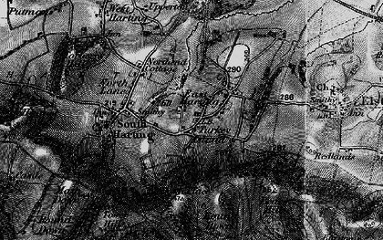 Old map of East Harting in 1895