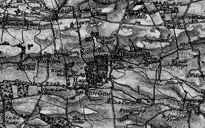 Old map of Ayrlow Banks in 1897