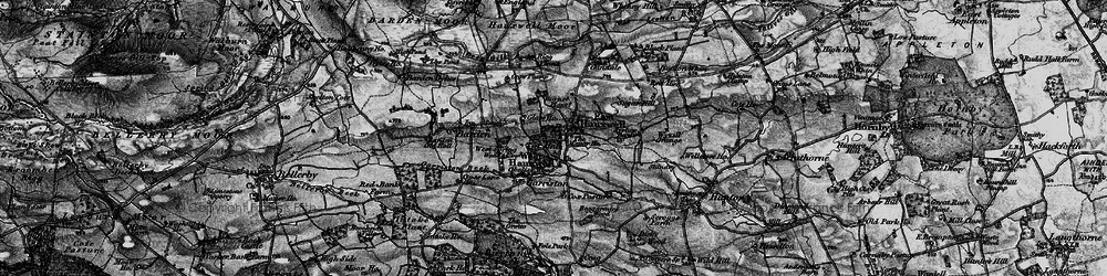 Old map of Willow Gill in 1897