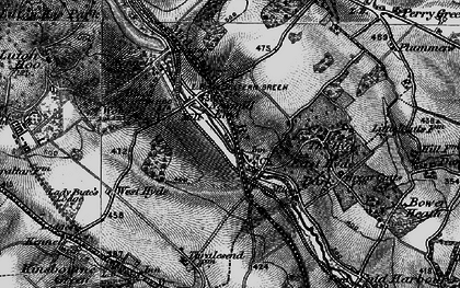 Old map of East Hyde in 1896