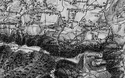 Old map of East Lavington in 1895