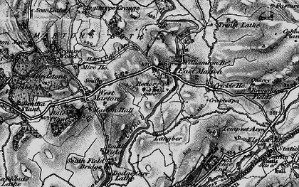 Old map of Williamson Br in 1898