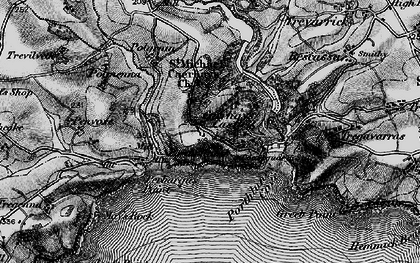 Old map of East Portholland in 1895