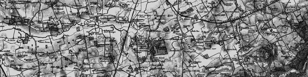 Old map of Wiske Bank Plantn in 1898