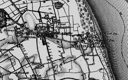 Old map of Winterton Ness in 1898