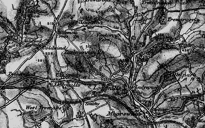 Old map of East Tuelmenna in 1896