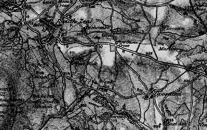 Old map of Addiscott in 1898
