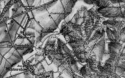 Old map of Ashley's Copse in 1895