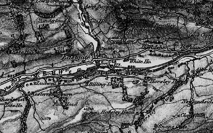 Old map of Eastgate in 1898