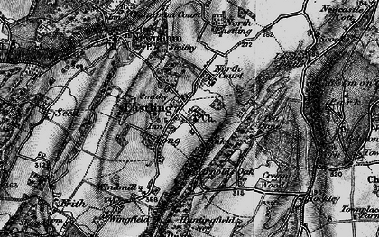 Old map of Tong Ho in 1895
