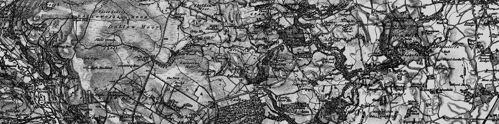 Old map of Yaudhouse Head in 1897