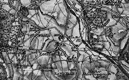Old map of Ecclesfield in 1896