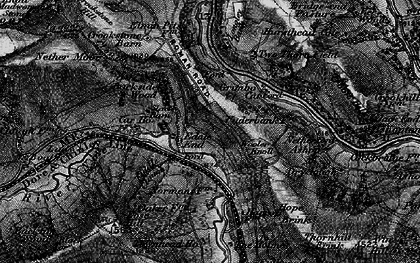 Old map of Woodlands Valley in 1896